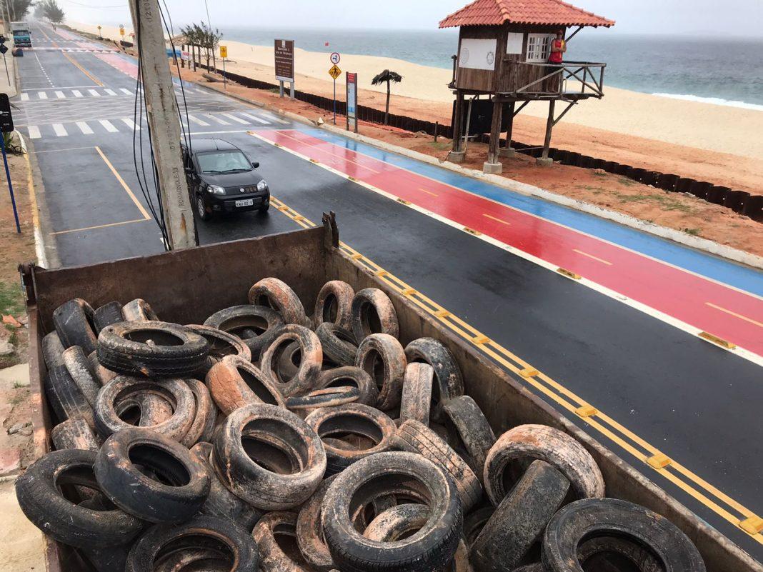 recolhimento de pneu